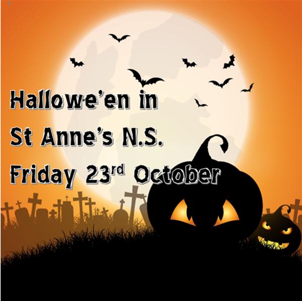 Hallowe'en Week in St Anne's